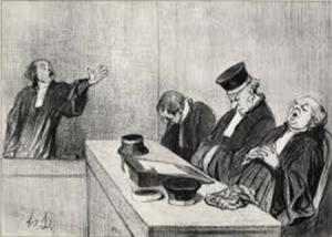 Honore Daumier Karikatur