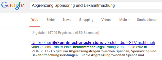 Suchergebnis VATelse
